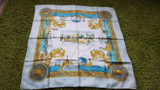 Hermès Paris - Scarf 'The Normans' designed by P Ledoux, in good condition - no reserve price -