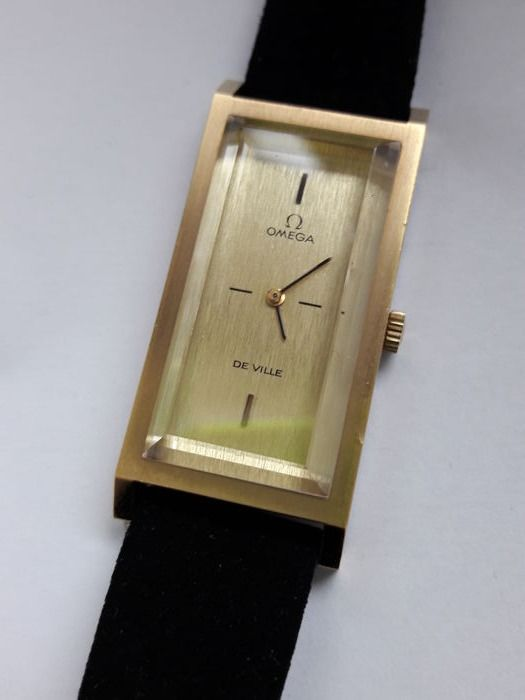 Omega De Ville Gold Plated unisex watch 1971