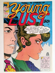 "Complete Run of ""Young Lust"" . Underground Comics - X8 SC - (1970/1992)"