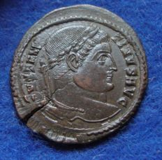 Roman Empire - AE of Constantine the Great (307–337 A. D.) struck in Trier (P757)