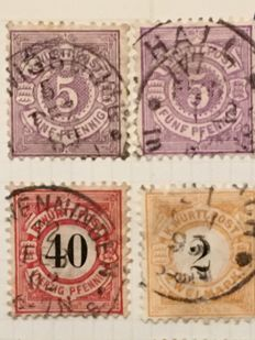 Germany, Danzig, Reich, States , General Gouvernement 1870/1990 - Batch in 3 stockbooks and on many pages