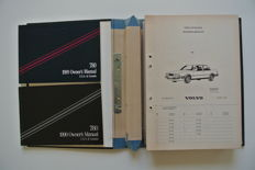 Volvo 780 Bertone Coupé parts catalogue (1985-1991) & USA owner's manuals (1989-1990)