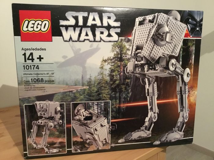 Star Wars - 10174 - Imperial AT-ST - UCS