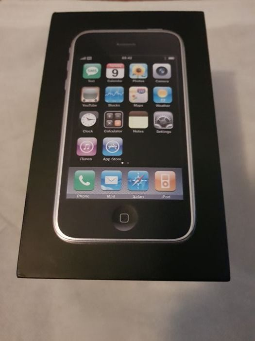 iphone 3g 16gb full box very good condition catawiki. Black Bedroom Furniture Sets. Home Design Ideas