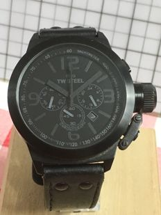 """TW STEEL """"Canteen TW11 """" – men's wristwatch – 2017 -- used, in mint condition."""