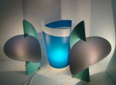 Samuel Parker for Slamp Roma - Lot of 3 lamps Table and Totem models In working order Like new condition