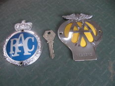 Two old English emblems from the 1960s