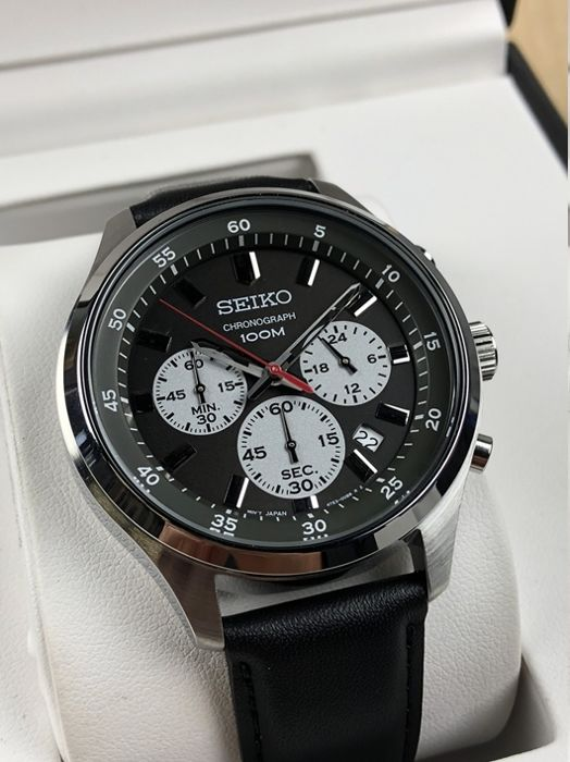 Seiko -  Grand Sports RACING  Chrono - 43 mm Japan Mov -   Chronograph - 43 mm - Heren - 2011-heden