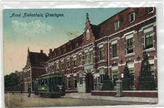 The city of Groningen, 127s - various streets and points of interest, including some very old of hospitals - 1900/1965