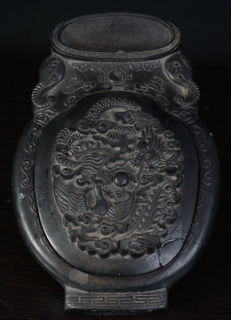 Exclusive Chinese ink stone box - China - second half 20th century