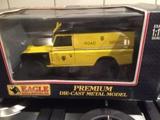 "Eagle Collection - Scale 1/18 - Land Rover Series 111 109 hard top ""AA rescue Van¨"
