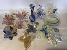 Objects collection - Murano glass - Made in Italy - Late 20th century (13)