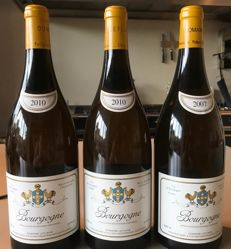 1x 2007 & 2x 2010 Domaine Leflaive Bourgogne Blanc - 3 magnums 1.5 ltrs.