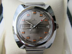 SICURA (By Breitling) Vintage 1970s Automatic Day Date - men's wristwatch