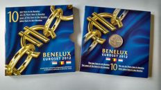 BeNeLux - Coin set 2012 with incorrect insertion of set 'Belgium is missing'