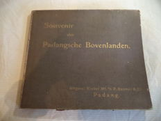 J. Demmeni - Souvenir der Padangsche Bovenlanden - ca. 1915 - 20x photo plate in folder