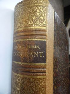 R. van der Meulen - De Courant - 2 volumes in one binding - 1885