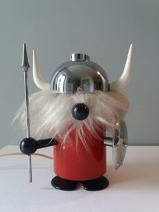 Unknown designer - Olaf the Viking table lamp, 1960s