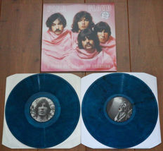 Pink Floyd- A Piece For Asserted Lunatics 2lp/ Limited, numbered edition of 111 copies on blue marbled wax/ Already out of print unofficial release/ NEAR MINT