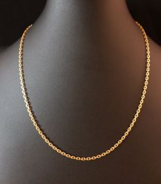 Chain in 18 kt gold.
