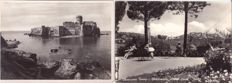 Lot of 310 Italian postcards from the 1950s