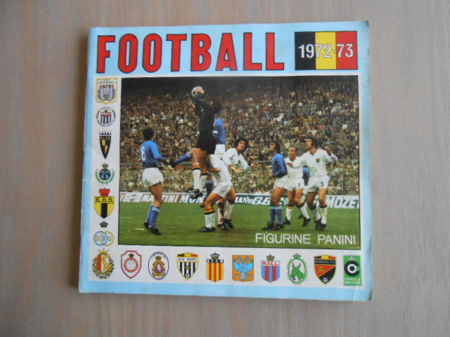 Panini - Football 1972/1973 - Belgian league season '72/'73 - Complete album