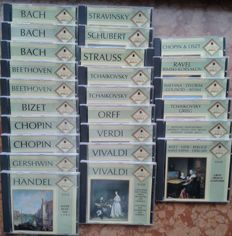 25 Classik CD ´ s by 31 different composers