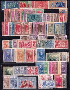 Madagascar 1903/1955 - broad collection with Airmail, Free France and Postage Due.