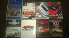 Porsche books and magazines
