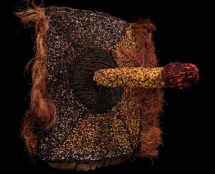 Beaded dance belts, male, female - Congo