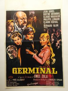 Posters; Lot with 44 slight-romantic film posters - 50s/70s