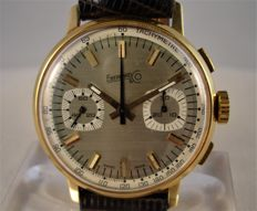 Eberhard chronograph - 18 kt gold - men's - 1970s