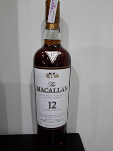 Macallan 12 years sherry - 1.75 liter