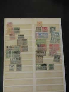 British Commonwealth - On loose sheets, in an album and on cards
