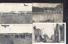 France 188x-old and very old village and city views-