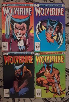 Wolverine - Complete Mini-Series - Issues #1-4 - Marvel Comics - (1982)
