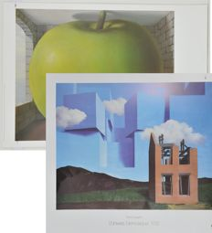 Rene Magritte (1898-1967) - 2 Art Graphics