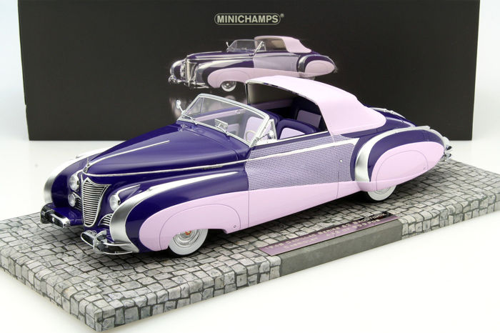 MiniChamps - 1:18 - Cadillac Series 62 Saoutchik Cabriolet 1948 - Limited Edition of 999 pcs.