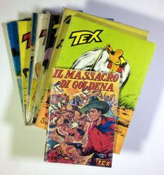 "Giant Tex - 7x albums + ""Il massacro di Goldena"" (facsimile edition)"