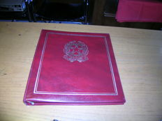 Republic of Italy, 1971-1979 and 1980-1989 - Complete collection in two Leuchtturm albums