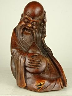 Bamboo sculpture of Shao Lau - China - second half of the 20th century
