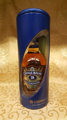 Chivas Regal 18 years old - in special Limited Edition Giftbox by Pininfarina
