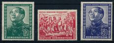 GDR or East Germany - 1949 - 1969 - Complete collection with Dt. Chinese Friendship and Marx blocks in Lighthouse album