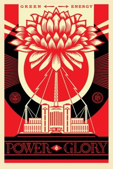 Shepard Fairey (Obey) - Green Power