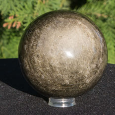 Exclusive Gold Obsidian - sphere - 89 mm - 759 gm