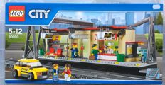 Lego 60050 - City Train station - 2014