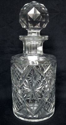 Baccarat Crystal - Large signed bottle