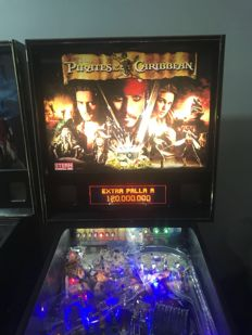 POTC - Pirates of the Caribbean pinball machine