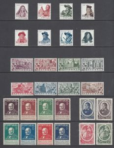 Portugal 1940/1947 - Small lot of key sets.