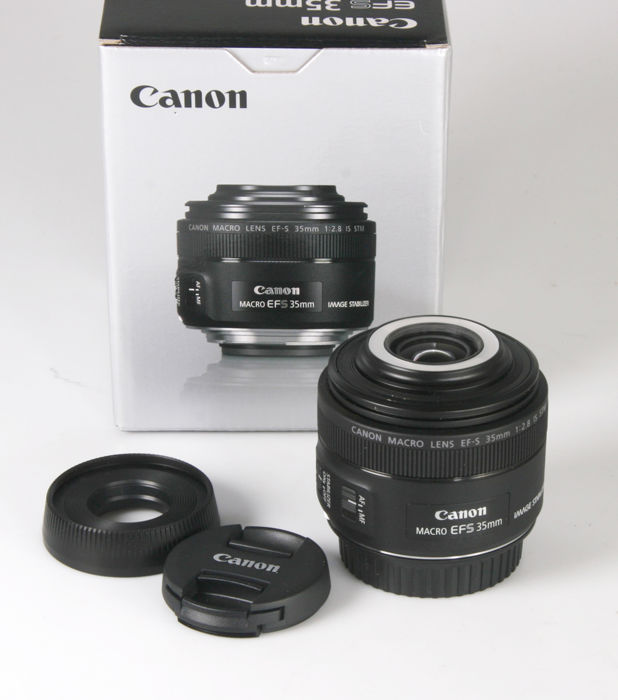 Canon EF-S 35 mm F/2.8 IS STM - macro met Led-verlichting - Catawiki